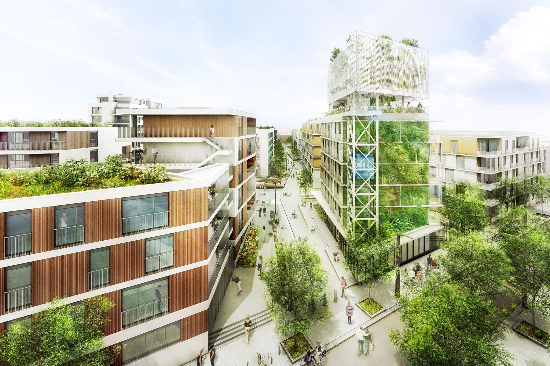 projet quartier durable